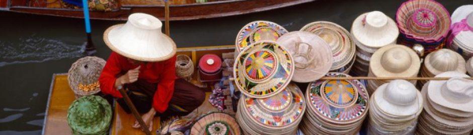 Amphawa und Tha Kha schwimmender markt tour