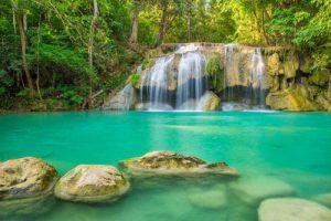 Erawan Wasserfall Kanchanaburi