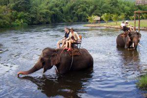 Kanchanaburi Elefanten Trekking