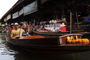 Paddel-Boot am Markt Tour