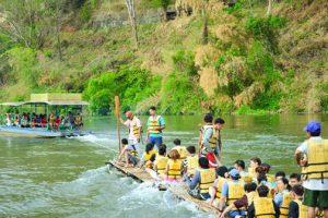 Rafting in Kanchanaburi