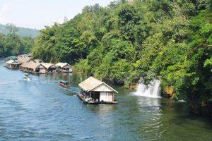 Sai Yok Noi Wasserfall Kanchanaburi