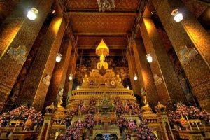 Wat Pho, Bangkok, Thailänder